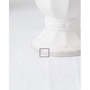 CERAMIC-VASE Country Gris et blanc フラワーベース Lサイズ 2色 240-163【陶器 おしゃれ 花瓶 花器 花材 資材 インテリア雑貨】|queenann-y|04