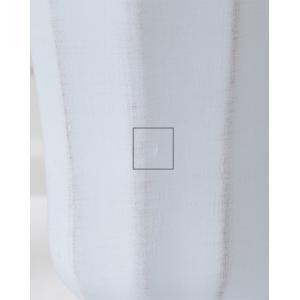 CERAMIC-VASE Country Gris et blanc フラワーベース Lサイズ 2色 240-163【陶器 おしゃれ 花瓶 花器 花材 資材 インテリア雑貨】|queenann-y|06