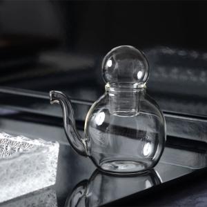 和食器 ガラス食器 和モダン おしゃれ 醤油差し おもてなし 青山硝子 丸型 クリア 業務用