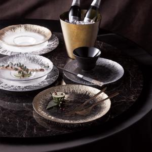 アイスベルク フラッシュ Eisberg -FLASH- ワイドリムクーププレート28cm 2色 EB2842【トルコ製 ガラス食器 おしゃれ おもてなし パーティー お皿】|queenann-y|04