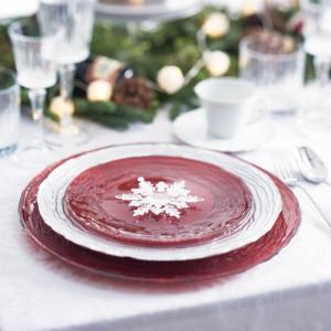 マラケシュ Marrakesh トルコ製 ガラス食器 おしゃれ おもてなし パーティー お皿 デザー...