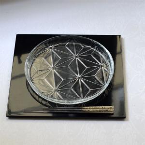 トルコ製 ガラス食器 吉沼硝子 和食器 和モダン おもてなし おしゃれ 丸皿 中皿 盛皿 業務用