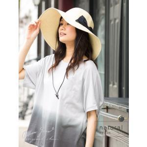 帽子 レディース 夏 夏物 つば広 UV UV...の詳細画像4