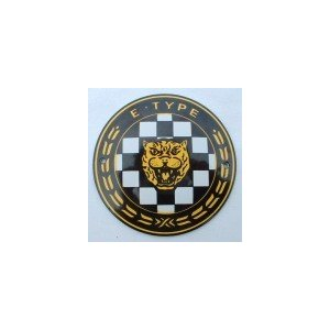 イギリス ジャガー チェッカー エナメル製プレート queens-gate