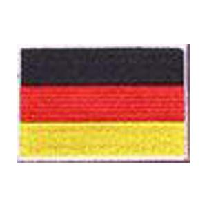 FLUG 旗 GERMANジャーマニー) ドイツ 車(タイヤ・オイル・その他) のワッペン アイロン|queens-gate
