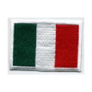 FLUG 旗 イタリア 車(タイヤ・オイル・その他) のワッペン アイロン|queens-gate