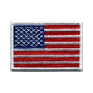 FLUG 旗 USA アメリカ 車(タイヤ・オイル・その他) のワッペン アイロン|queens-gate
