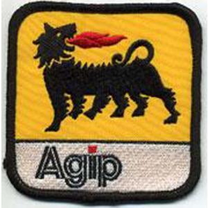 Agip イタリア オイル 車(タイヤ・オイル・その他) のワッペン アイロン queens-gate