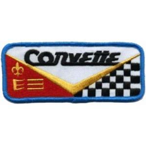 CORVETTE コルベット シボレー アメリカ 車(タイヤ・オイル・その他) のワッペン アイロン|queens-gate
