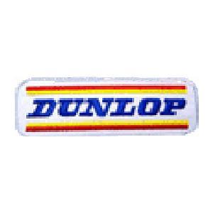DUNLOP ダンロップ ロゴ イギリス 車(タイヤ・オイル・その他) のワッペン アイロン|queens-gate