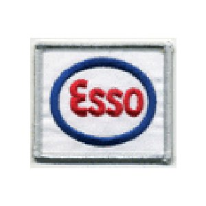 ESSO エッソ アメリカ ガソリン 車(タイヤ・オイル・その他) のワッペン アイロン queens-gate