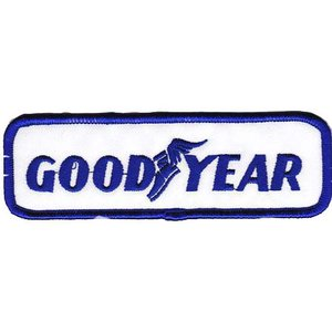 GOODYEAR グッドイヤー タイヤ アメリカ 車(タイヤ・オイル・その他) のワッペン アイロン|queens-gate