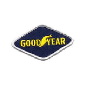 GOODYEAR グッドイヤー タイヤ アメリカ 菱形 車(タイヤ・オイル・その他) のワッペン アイロン|queens-gate