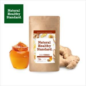 Natural Healthy Standard ミネラルハニー・ゆずジンジャー 新商品