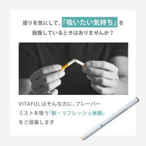 VITAFUL ビタフル 充電式電子タバコ スターターキット/交換カートリッジ 全4種 ニコチン0 タール0 電子たばこ|queensshop|06