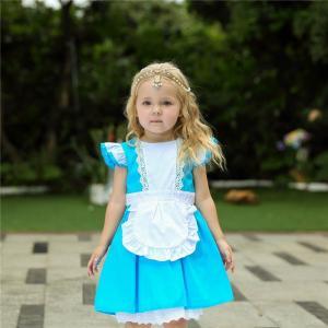 AD040 ディズニープリンセス 子供用ドレス キッズ アリス  ワンピース なりきりワンピース  プリンセスドレス 子どもドレス プリンセス キッズドレス 女の子|queenstylehayato