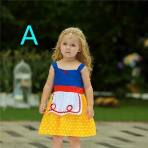 AD041  ディズニープリンセス 子供用ドレス キッズ 白雪姫 アリス ミッキー ワンピース なりきりワンピース プリンセスドレス|queenstylehayato