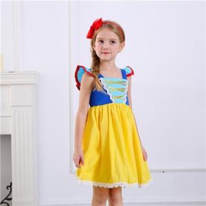 37a2bcf36f0bb AD82ディズニープリンセス キッズ 白雪姫 ワンピース なりきりワンピース プリンセスドレス 子どもドレス プリンセス キッズドレス 女の子