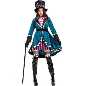 ARS1 コスプレ衣装 メイド アリス仮装 マジシャン 魔術 プリンセスドレス ハロウィン コスプレ コスチューム レディース メイド プリンセスドレス
