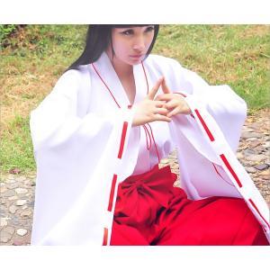 DM116 いぬやしゃ 犬夜叉 人気の巫女服 桔梗 いぬやしゃ コスプレ 巫女 みこさん 高品質衣装 コスチューム|queenstylehayato