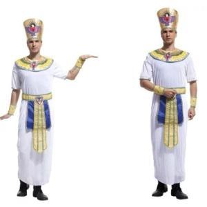 コスプレ衣装 エジプトのファラオ コスチューム 衣装  大人用 セットハロウィン なりきり ステージ衣装 余興 メンズ 仮装 エジプト  王様 面白い おもしろDS1 queenstylehayato