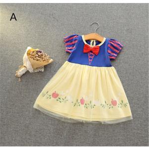 4ab6fa4a121f1 W3 ディズニープリンセス 子供用ドレス キッズ白雪姫 ドレス ワンピース なりきりワンピース プリンセスドレス 子どもドレス プリンセス キッズドレス  女の子