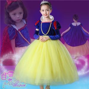 W45  ディズニープリンセス  キッズ 白雪姫 ワンピース なりきりワンピース  プリンセスドレス 子どもドレス プリンセス キッズドレス 女の子|queenstylehayato