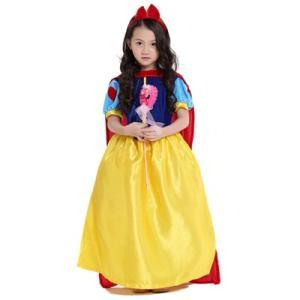 88f246fb02b66 W94 ディズニープリンセス 子供用ドレス キッズ白雪姫 ドレス ワンピース なりきりワンピース プリンセスドレス 子どもドレス プリンセス  キッズドレス 女の子