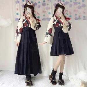 セット内容:トップス スカート  サイズ:S/M/L  S バスト75-83cm ウエスト60-66...