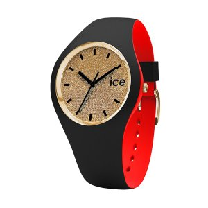 007228 ICE-WATCH [アイスウォッチ] ICE loulou アイスルウルウ ゴールド/グリッター スモール レディース腕時計 国内正規品 送料無料|quelleheure-1