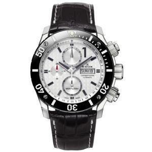 01114-3-BIN-L EDOX エドックス クロノオフショア1 CHRONOGRAPH AUTOMATIC メンズ腕時計 メンズ腕時計 正規品 送料無料  |quelleheure-1