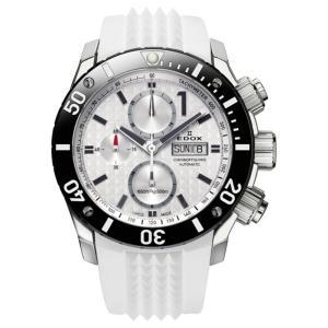 01114-3-BIN-S EDOX エドックス クロノオフショア1 CHRONOGRAPH AUTOMATIC メンズ腕時計 メンズ腕時計 正規品 送料無料  |quelleheure-1