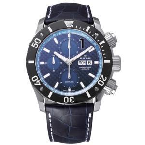 01114-3-BUIN-L   EDOX エドックス CHRONOFFSHORE-1 クロノオフショア1 CHRONOGRAPH AUTOMATIC メンズ腕時計  |quelleheure-1