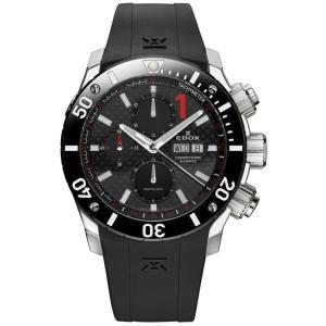 01114-3-NIN EDOX エドックス CHRONOFFSHORE-1 クロノオフショア1 CHRONOGRAPH AUTOMATIC メンズ腕時計  |quelleheure-1