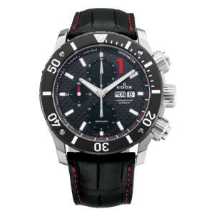 01114-3-NIN-L EDOX エドックス クロノオフショア1 CHRONOGRAPH AUTOMATIC メンズ腕時計 メンズ腕時計 正規品 送料無料  |quelleheure-1
