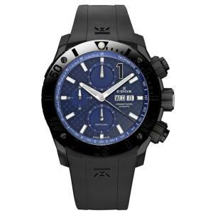 01114-37N-BUIN   EDOX エドックス CHRONOFFSHORE-1 クロノオフショア1 CHRONOGRAPH AUTOMATIC メンズ腕時計  |quelleheure-1