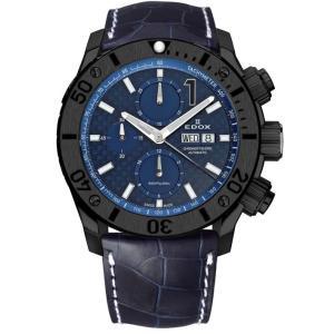 01114-37N-BUIN-L  EDOX エドックス CHRONOFFSHORE-1 クロノオフショア1 CHRONOGRAPH AUTOMATIC メンズ腕時計  |quelleheure-1