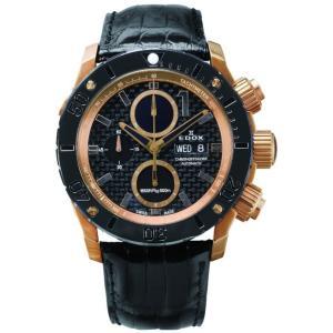 01114-37R-NIR4-L  EDOX エドックス CHRONOFFSHORE-1 クロノオフショア1 CHRONOGRAPH AUTOMATIC メンズ腕時計  |quelleheure-1