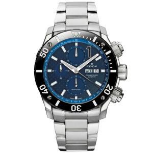 01115-3-BUIN EDOX エドックス CHRONOFFSHORE-1 クロノオフショア1 CHRONOGRAPH AUTOMATIC メンズ腕時計  |quelleheure-1
