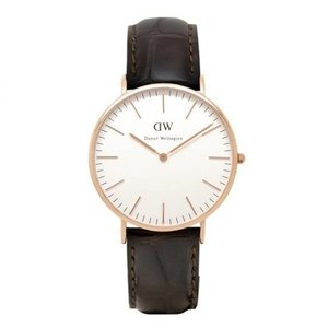 0111DW Daniel Wellington ダニエルウェリントン ローズ Classic York クラシック ヨーク メンズ腕時計 40mm 国内正規品 送料無料