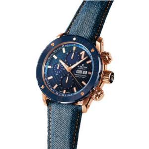 EDOX エドックス クロノオフショア1 クロノグラフオートマチック メンズ腕時計 2018新作 01122-37RBU3-BUIR3-D 送料無料 正規品   quelleheure-1
