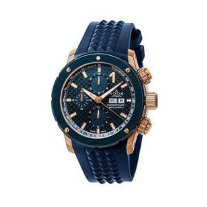 EDOX エドックス クロノオフショア1 クロノグラフオートマティック メンズ腕時計 2018年新作 01122-37RBU35-BUIR3 送料無料 正規品   quelleheure-1