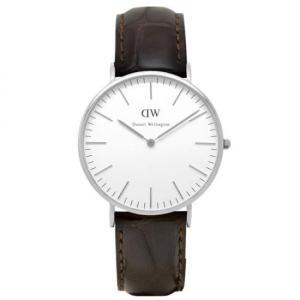0211DW Daniel Wellington ダニエルウェリントン シルバー Classic York クラシック ヨーク メンズ腕時計 40mm 国内正規品 送料無料