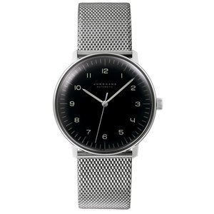 027 3400 00M ユンハンス Max Bill by Junghans Automatic メンズ腕時計 国内正規品 送料無料  |quelleheure-1