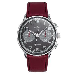 027 3685 00  ユンハンス  Meister Driver Chronoscope メンズ腕時計 国内正規品 送料無料|quelleheure-1
