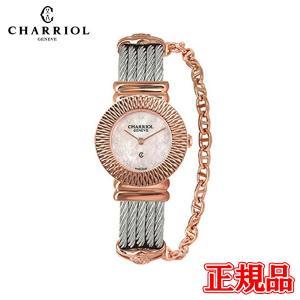 028IP.540.462 CHARRIOL シャリオール ST-TROPEZ Art Deco レディース腕時計 国内正規品 送料無料|quelleheure-1