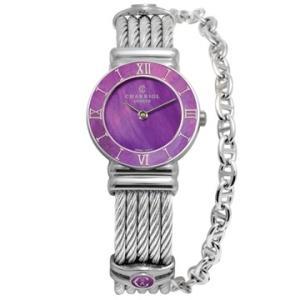 028SPI.540.553 CHARRIOL シャリオール ST-TROPEZ PLUM レディース腕時計 国内正規品 送料無料  |quelleheure-1