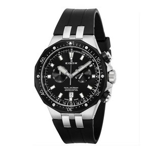 EDOX エドックス DELFIN THE ORIGINAL CHRONOGRAPH デルフィン オリジナル クロノグラフ メンズ腕時計 10109-357NCA-NIN 国内正規品 送料無料  |quelleheure-1