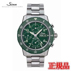 正規品 Sinn ジン Instrument Chronographs インストゥルメント クロノグラフ 自動巻き メンズ腕時計 ステンレススチール 世界限定500本 103.SA.G quelleheure-1