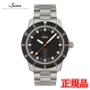 正規品 Sinn ジン Instrument Watches インストゥルメントウォッチ 自動巻き メンズ腕時計 ステンレススチールブレス 105.ST.SA quelleheure-1